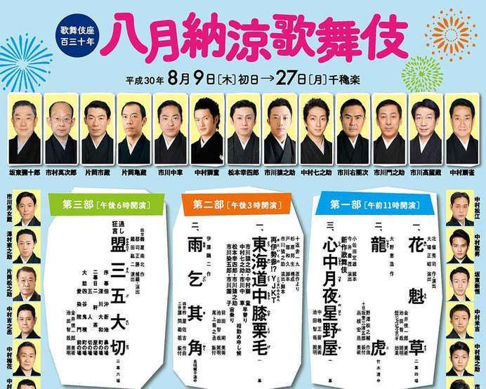 出典:歌舞伎公式総合サイト歌舞伎美人より引用