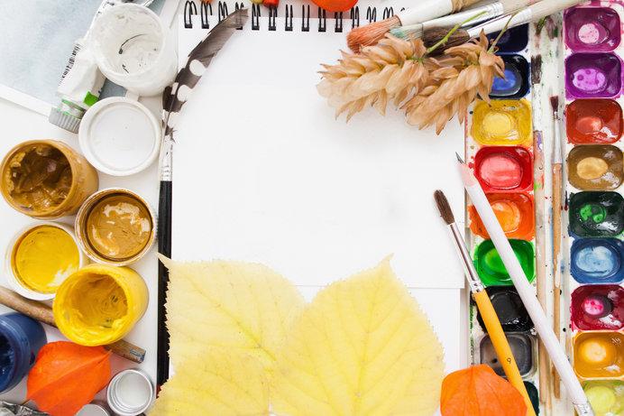 創作活動にぴったりな「芸術の秋」がやってきました♪