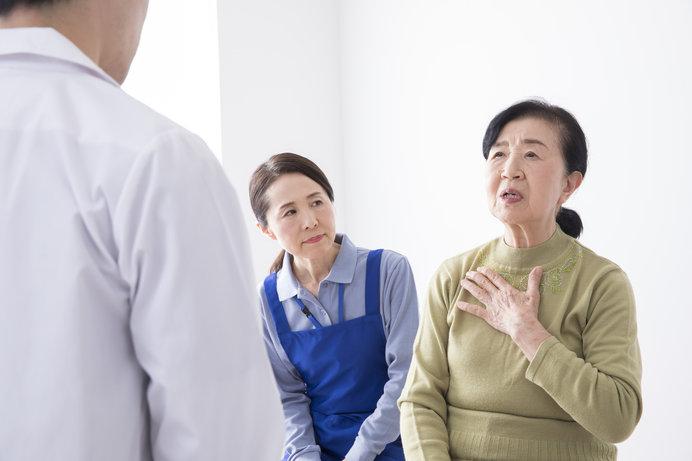 「腹がニヤニヤする」「体がこわい」と、北海道のお年寄りが訴えています