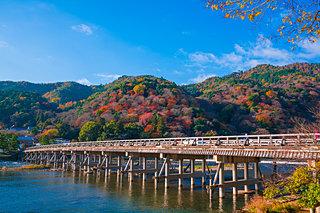 京都の紅葉の名所スポットへGO!〈嵯峨・嵐山エリア編〉