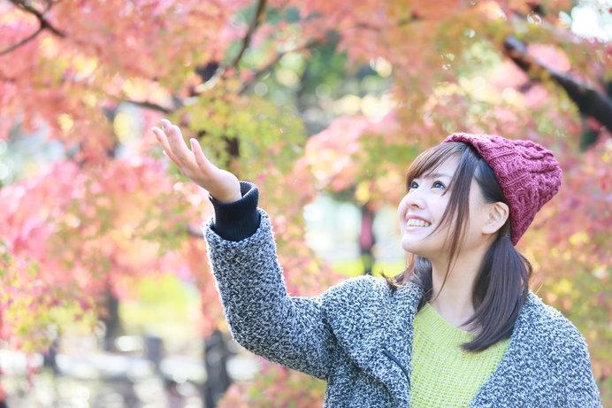 キレイな紅葉を観ていると……創作意欲が湧いてくる!?