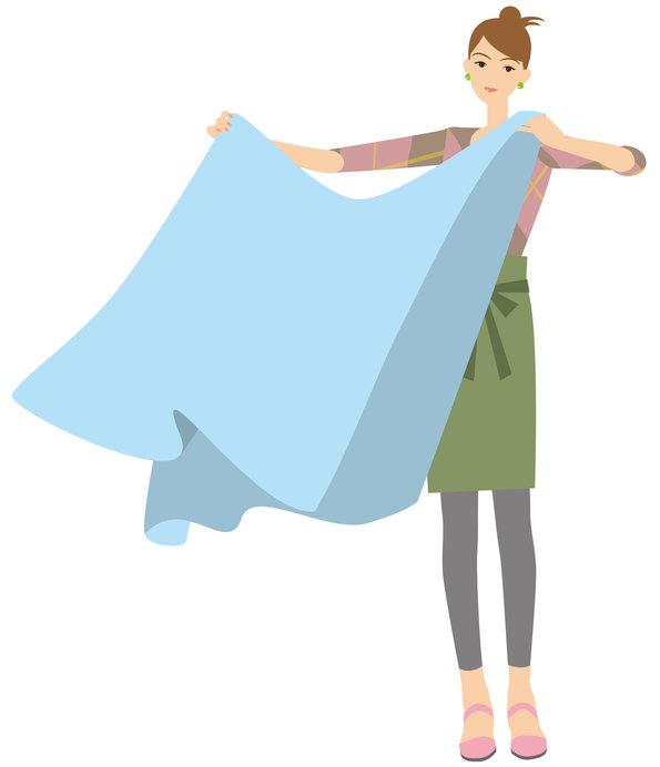 秋は大判布類を洗濯するチャンスです!
