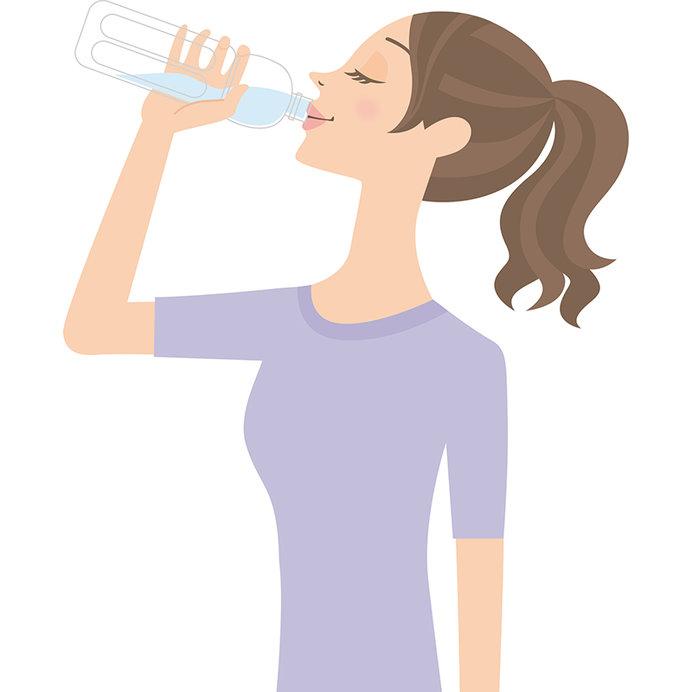 冬こそ、しっかり水分を摂るようにしましょう