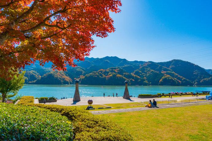 のんびりと秋の景色を眺めれば気分もリフレッシュ!