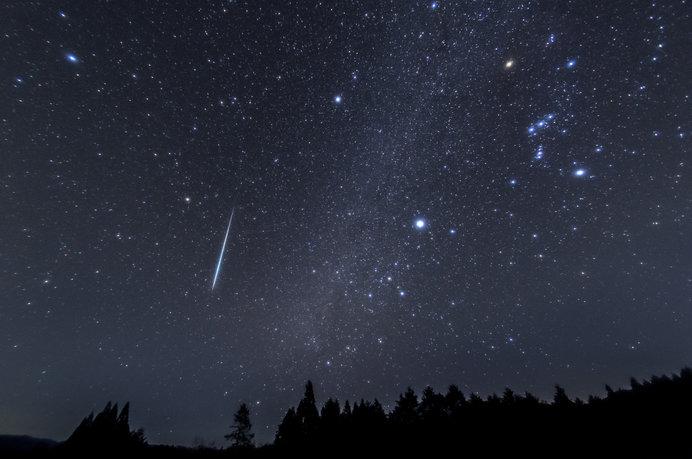 12月はふたご座流星群を観望できるかも!?
