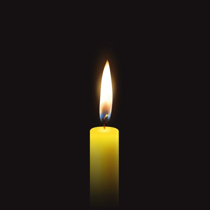 人の命は蝋燭の炎のようなものかもしれません
