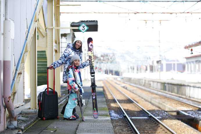 改札を出たらそこはスキー場!「湯沢中里スノーリゾート」(新潟)