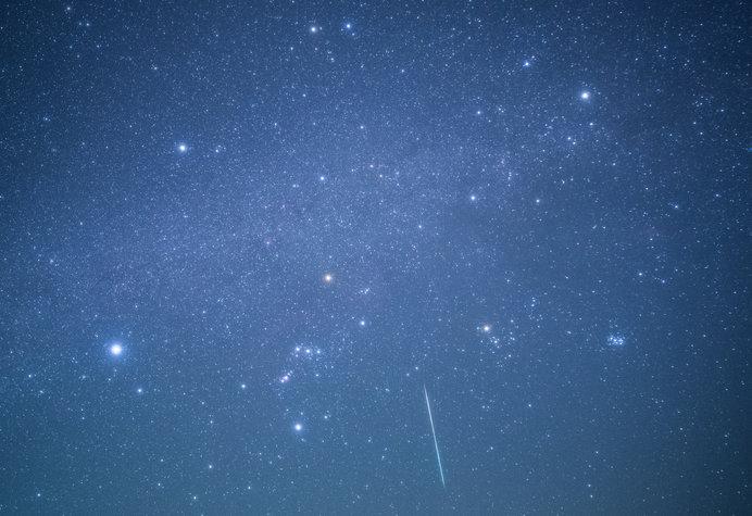 流れ星をいくつ見つけられるかな