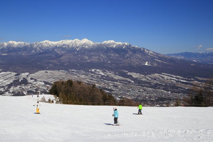 晴天率85%を誇る富士見パノラマリゾート