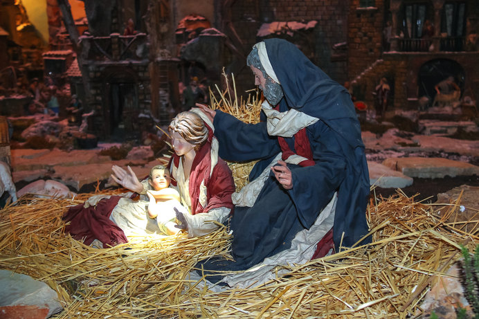 馬小屋で生まれたイエス・キリスト