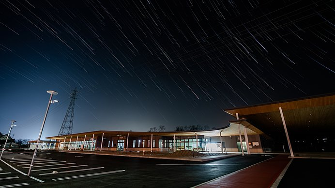 星も降る「道の駅 南信州とよおかマルシェ」