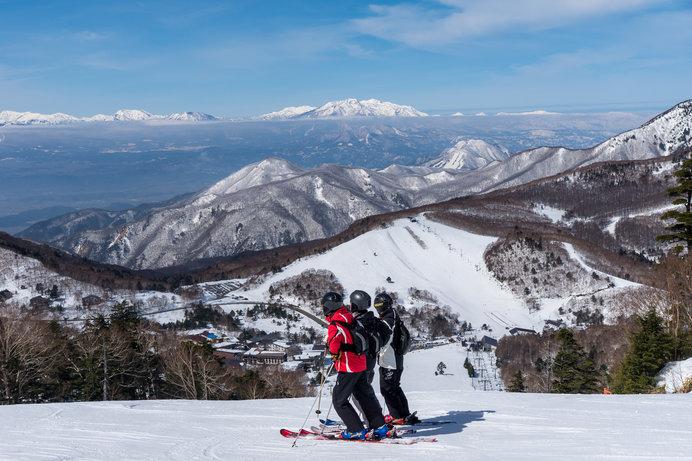 広大な志賀高原スキー場は、一日では遊び足りない!?