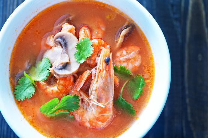 世界3大スープのひとつ・トムヤムクン