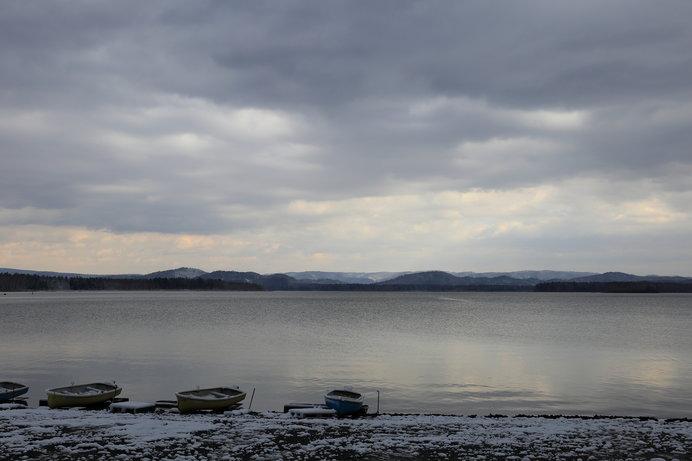 日本最大の人造湖「朱鞠内湖」