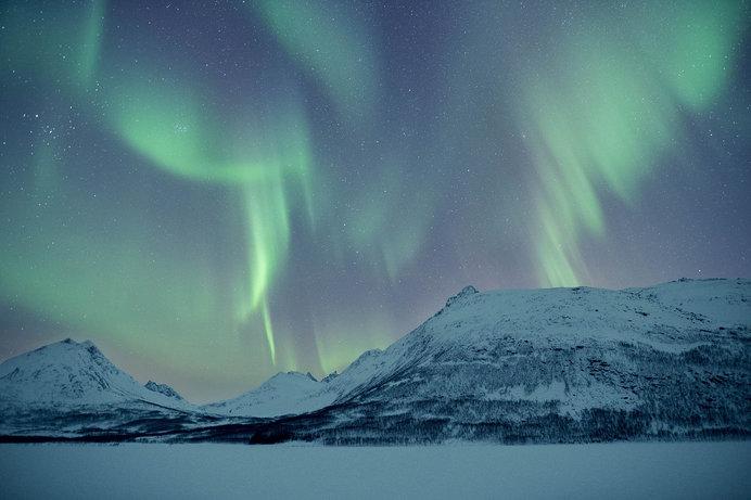 オーロラが美しいノルウェー