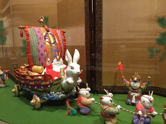 小彌太氏を模した人形