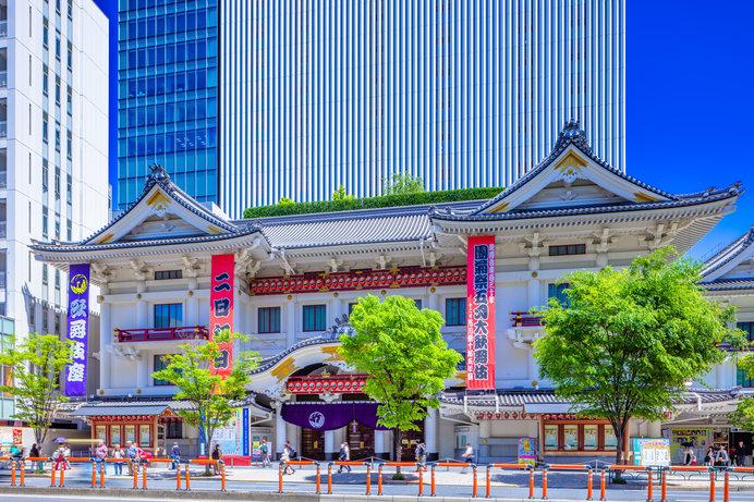 江戸の歌舞伎を支え続ける「歌舞伎座」