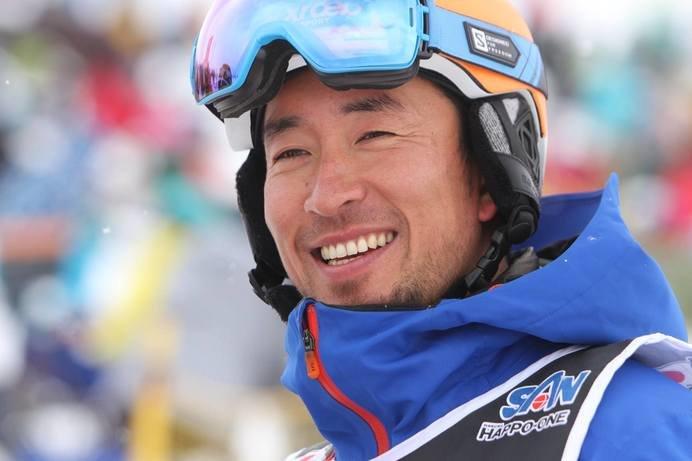 39歳にして「全日本スキー技術選手権大会」(3月開催)で2連覇を目指す現役スキーヤー