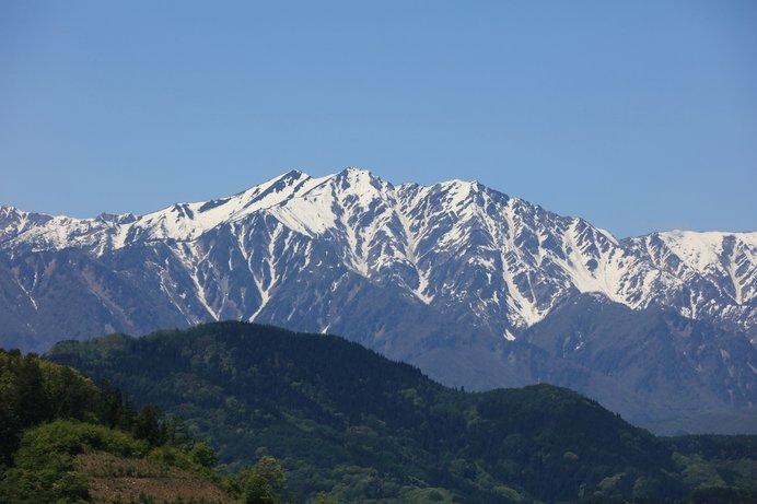北アルプス 爺が岳