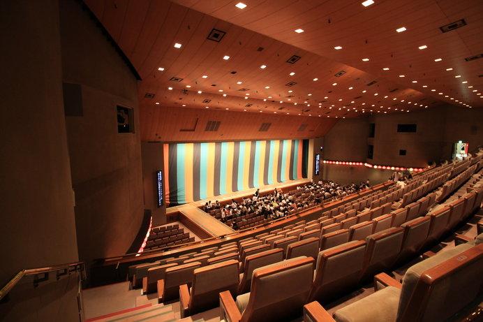 国立劇場は、どの席からも見やすいと定評