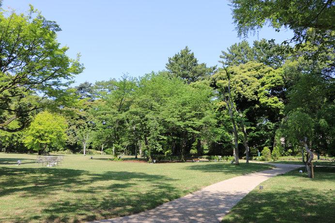 東京都庭園美術館 西洋庭園