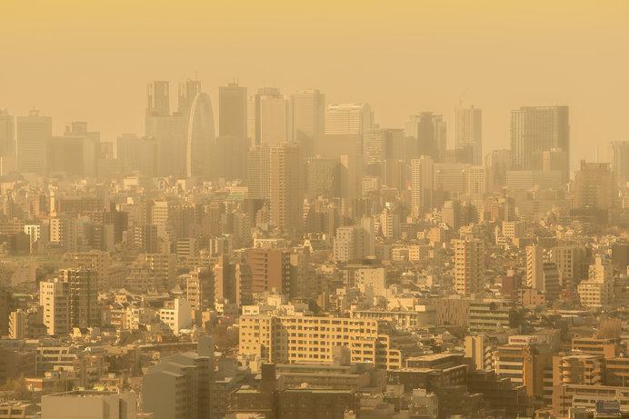 春の風が運ぶ花粉、黄砂、PM2.5による肌荒れにご注意!