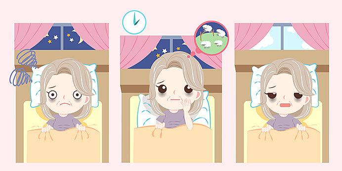 浅い眠りなどの睡眠障害は体調を崩す大きな要因になるので、気をつけたいもの
