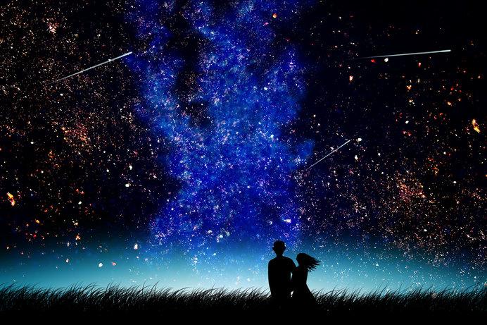 ロマンティックな天体観測を!