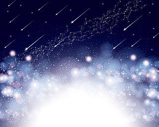 みずがめ座η流星群・ 5月6日極大!新時代の幕開けにロマンチックな流れ星を!