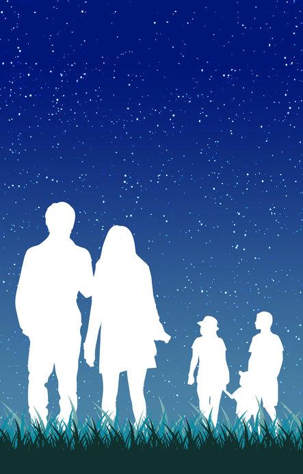 建物や明かりがない場所でぜひ星空観察を