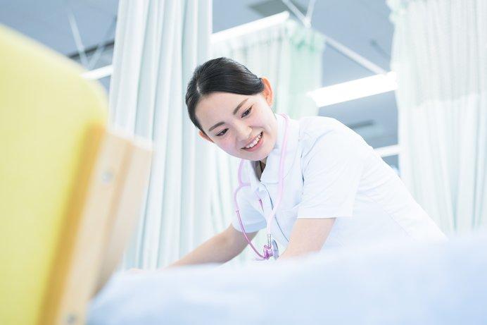 誰でもこの看護師さんの笑顔に癒されたことがあるのでは