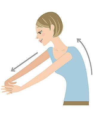呼吸を意識しながら、肩まわりのストレッチを実践してみよう