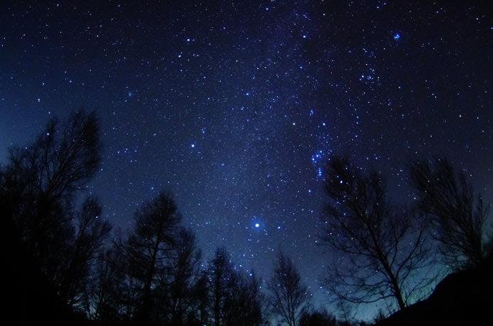 こんな星空に出会えたら最高ですね! ※画像はイメージ