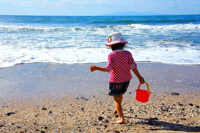シェルビーチで貝殻拾いもできちゃう! ※画像はイメージ