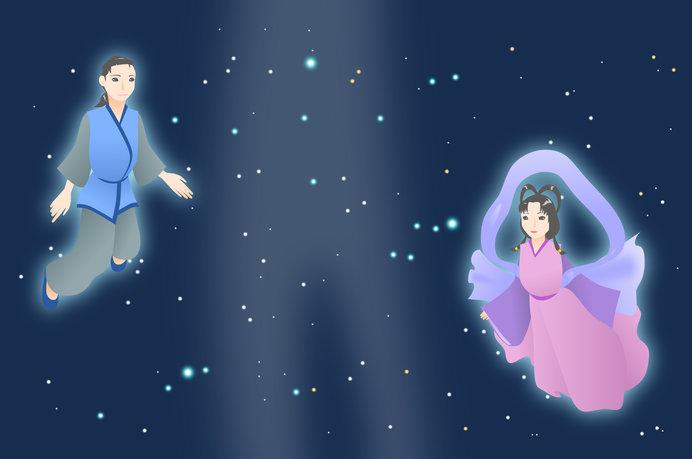 七夕伝説の星々は実際には14.4光年も離れている……
