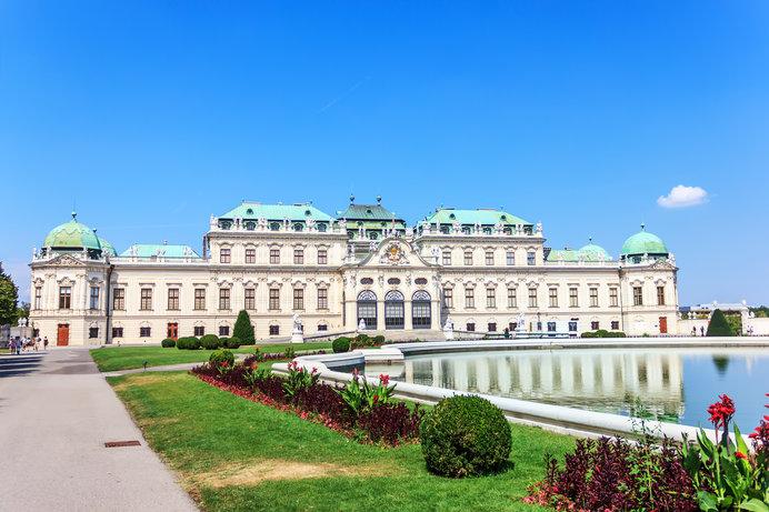 クリムトといえばベルヴェデーレ宮殿