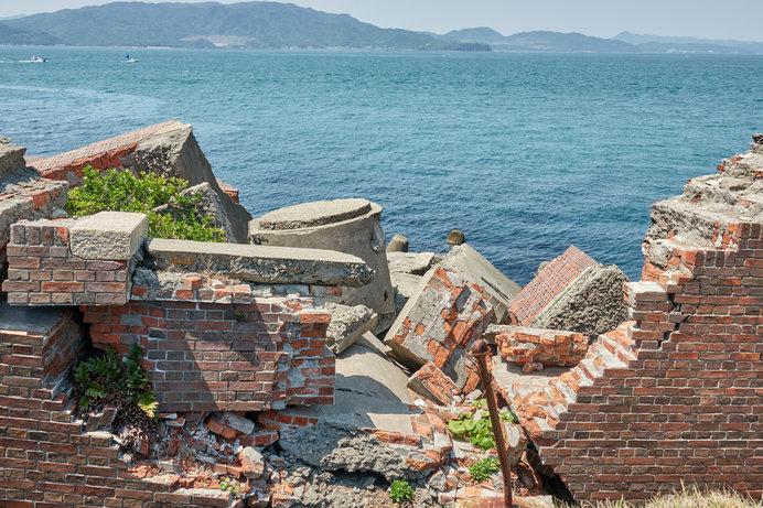 終戦後に爆破された「第2砲台跡」