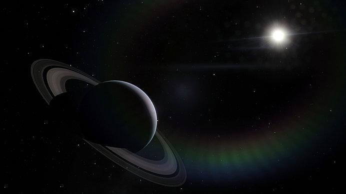美しい環が特徴の土星