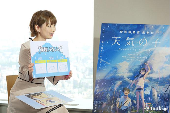 映画「天気の子」醍醐虎汰朗&森七菜が日本気象協会にやってきた~気象予報士に色々聞いてみよう~