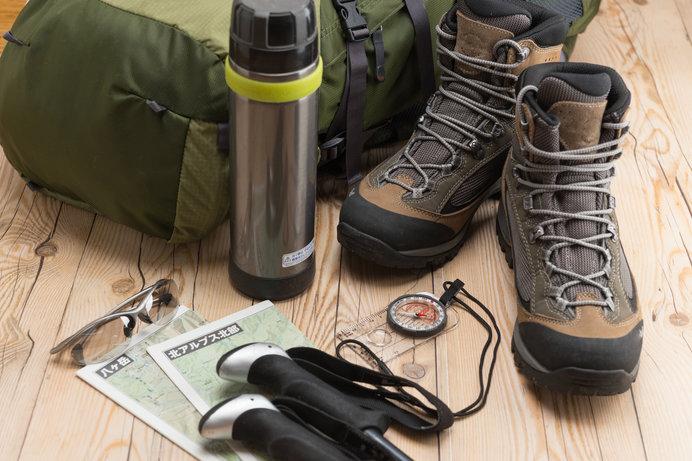 道具をそろえるのも、登山の楽しみのひとつ