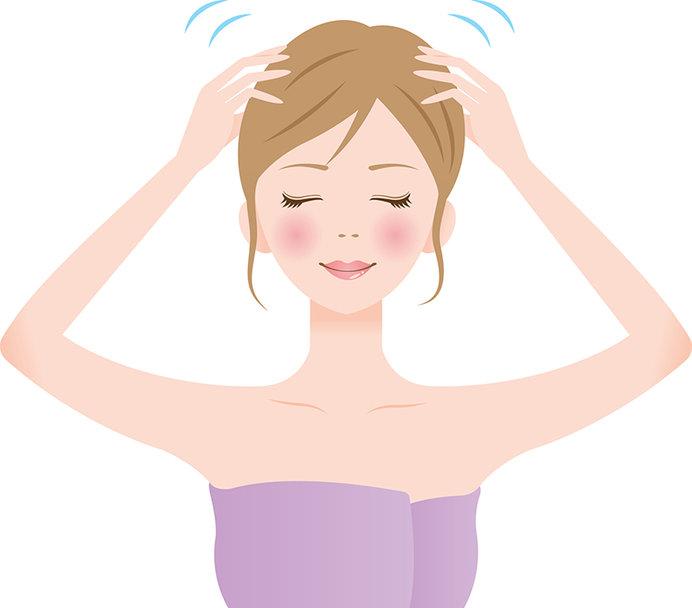 頭皮マッサージは、リラックス効果もあるので取り入れるといいですね