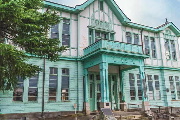 国の登録有形文化財に指定されている「旧栃木町役場庁舎」