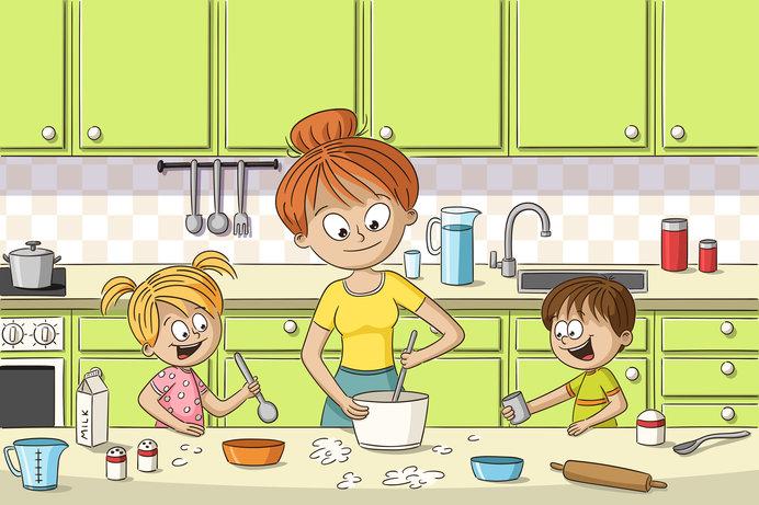 夏休みの思い出に、子どもと一緒に手作りおやつ作りにトライ!
