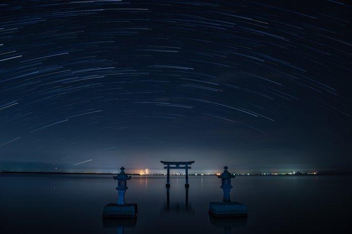 不知火町の永尾(えいのう)神社