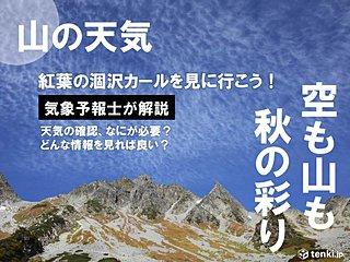 いろいろな資料を見て山の天気を予想しよう!