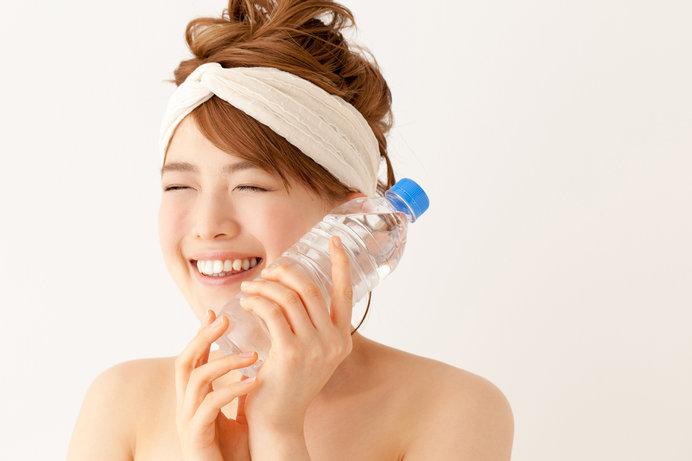 入浴前と汗をかいた後の水分補給はマストです!