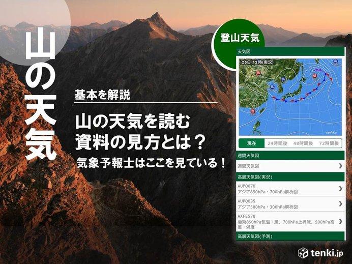 天気図の基本を解説!山の天気を詳細にイメージしよう