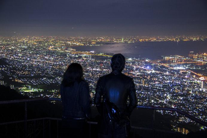 摩耶山 掬星台の夜景(兵庫県)