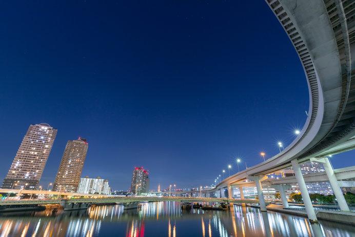 東京のウォーターフロント夜景