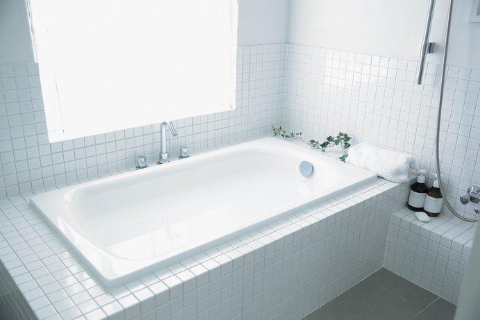 きれいなお風呂!いつもこんな風にピカピカにキープしたいですね...